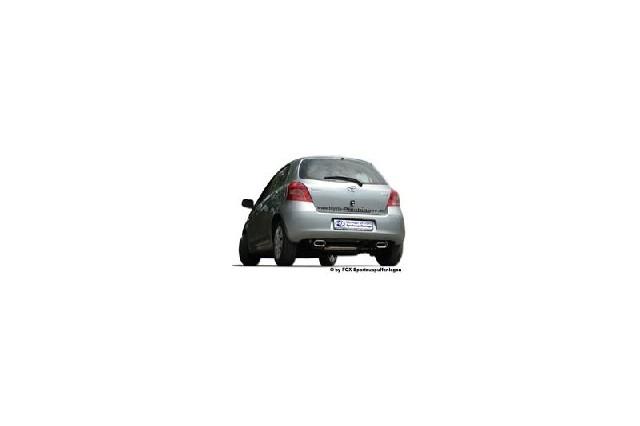 FOX Toyota Yaris XP9F  Endschalldämpfer quer Ausgang rechts/links - 150x70 Typ 53 rechts/links