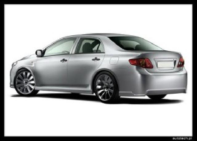 Heckstoßstange Toyota Corolla Limo ab 06