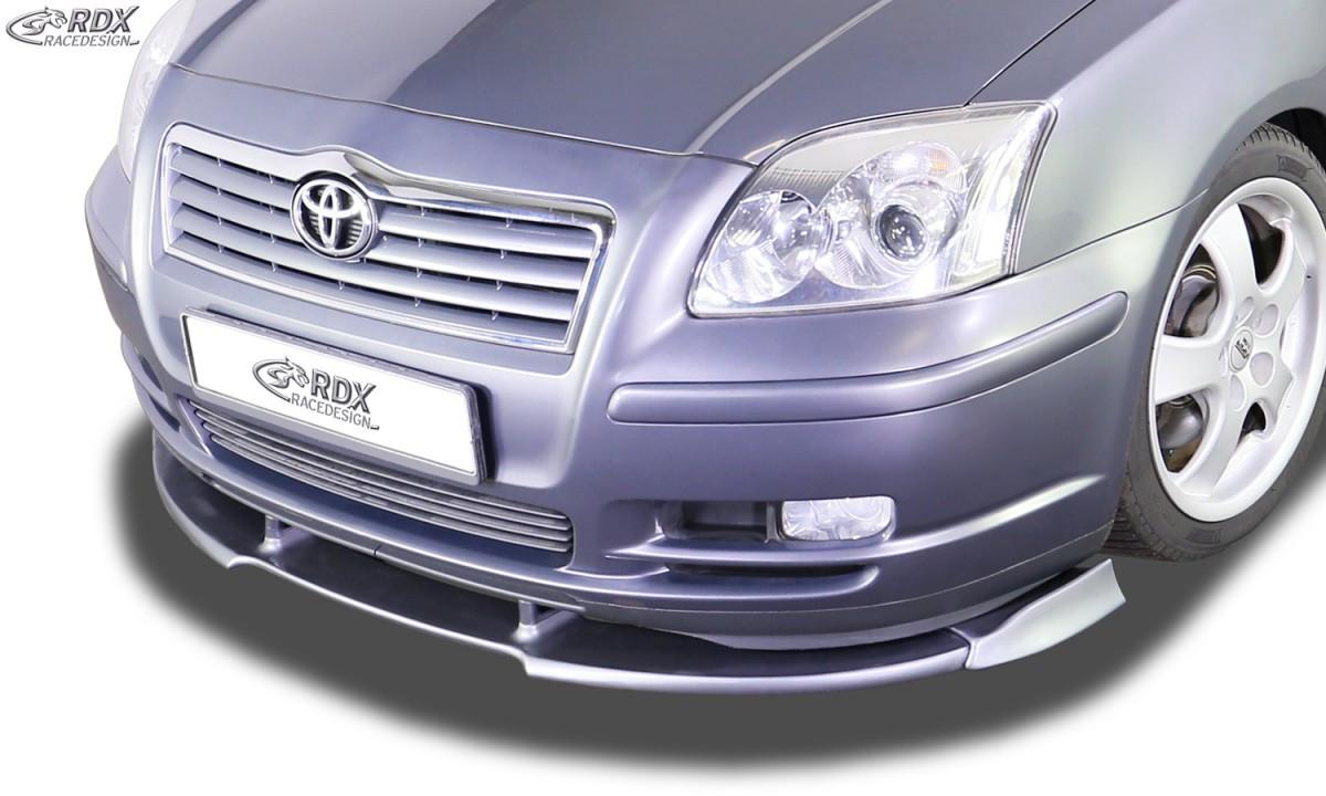 Frontspoiler VARIO-X TOYOTA Avensis 2003-2006 T25 Frontlippe Front Ansatz Vorne Spoilerlippe