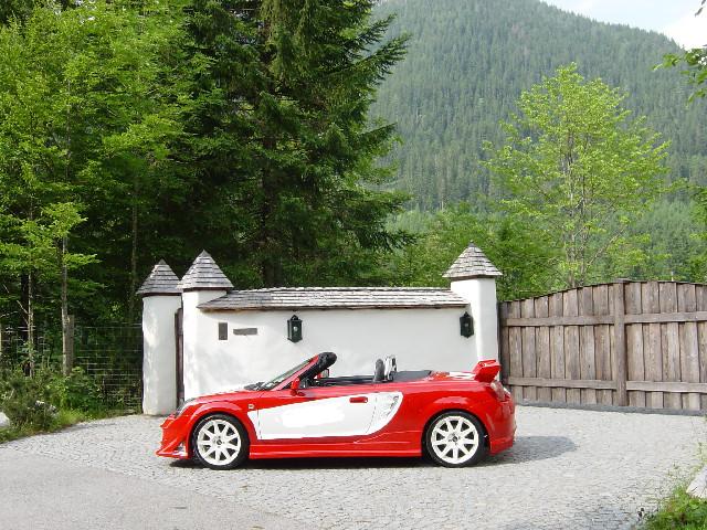 Seitenschweller Satz Toyota MR-2 W3 Roadster