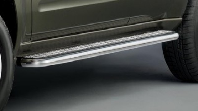 Trittbretter Edelstahl für Nissan Pathfinder 2010-