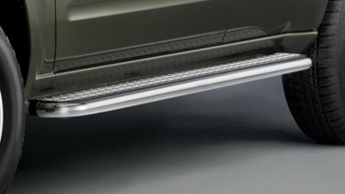 Trittbretter Edelstahl für Nissan Pathfinder