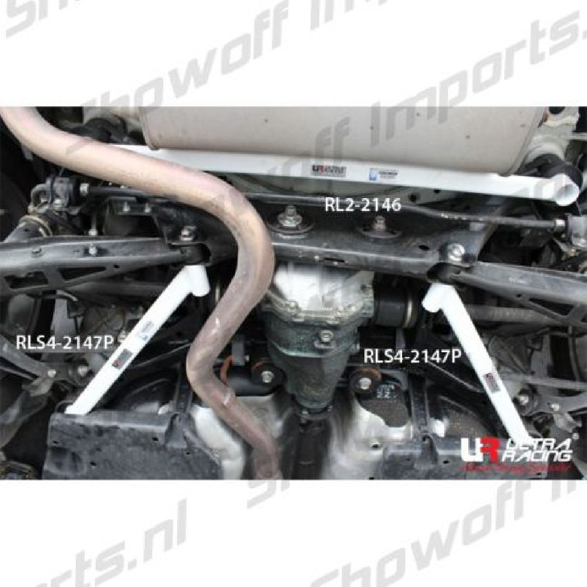 Subaru BRZ Ultra-R 2P Rear Lower Bar 2146