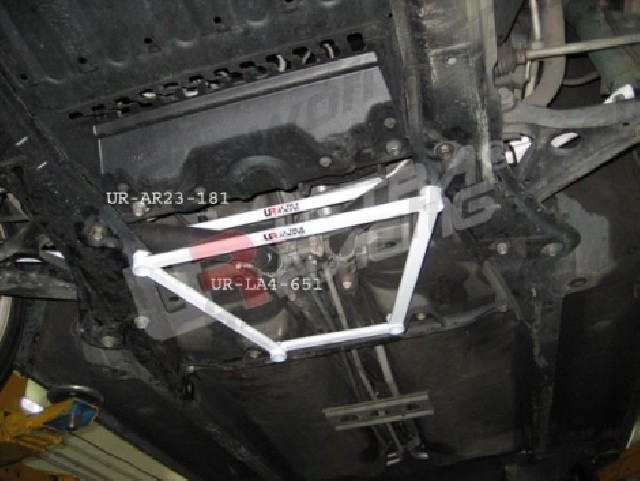 Toyota MR2 UltraRacing 4-Point Front Lower Brace