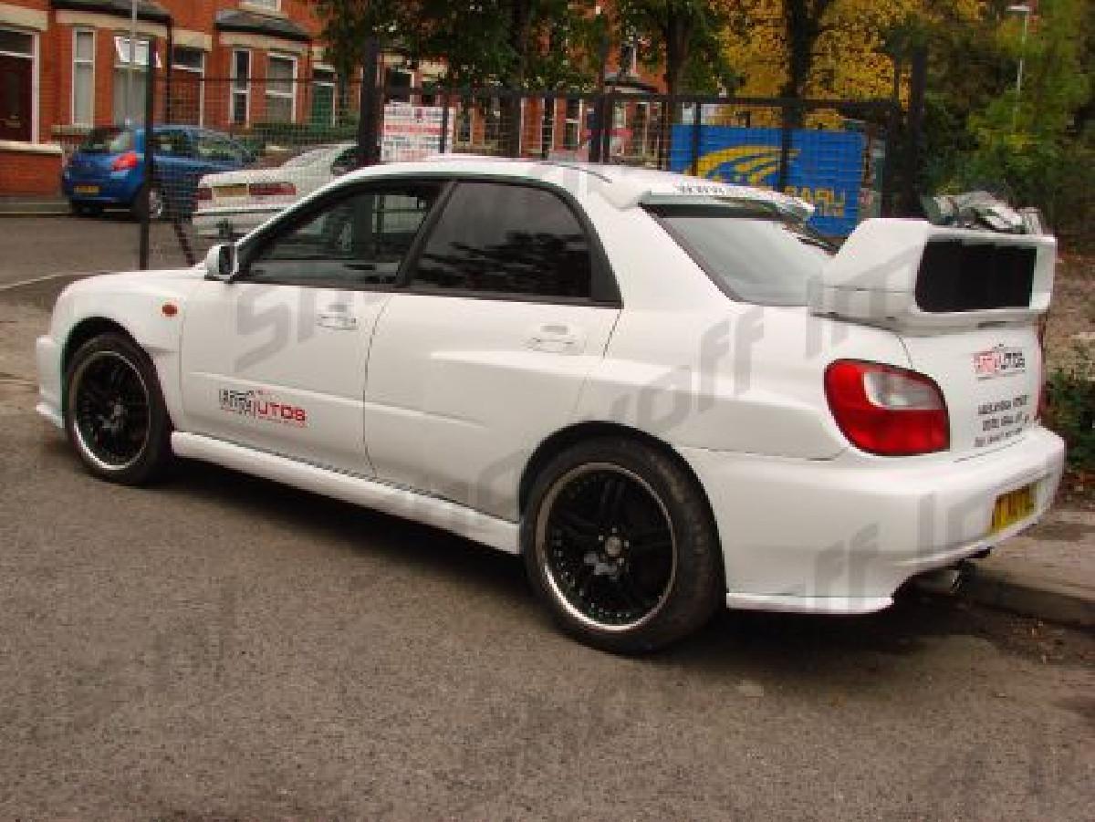 Subaru Impreza WRX/STI 01-02 Rear Corner Lips PU