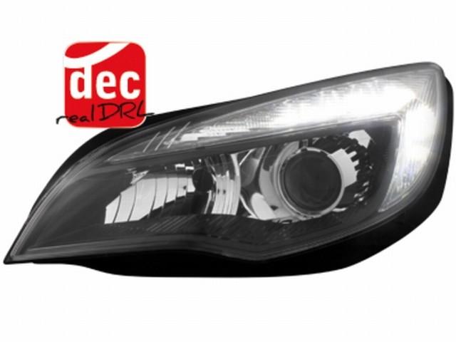 Tagfahrlicht Scheinwerfer Opel Astra J 10p schwarz