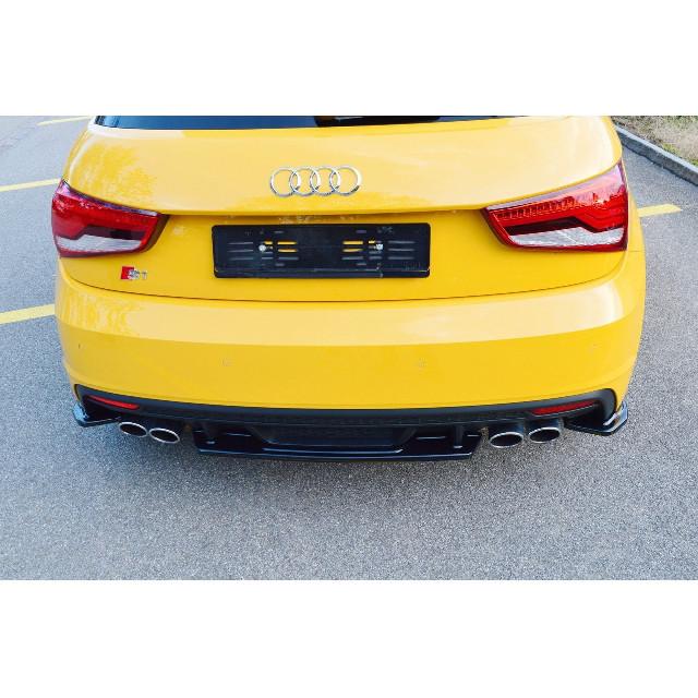 Mittlerer Cup Diffusor Heck Ansatz passend für Audi S1 8X