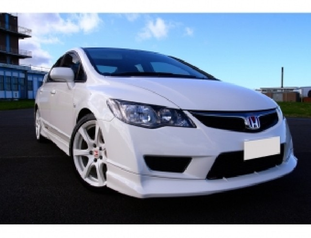 Honda Civic 09-12 Type-R-Look Frontansatz