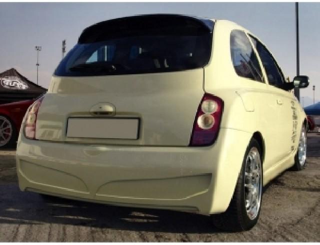Nissan Micra K12 EDS Heckstossstange
