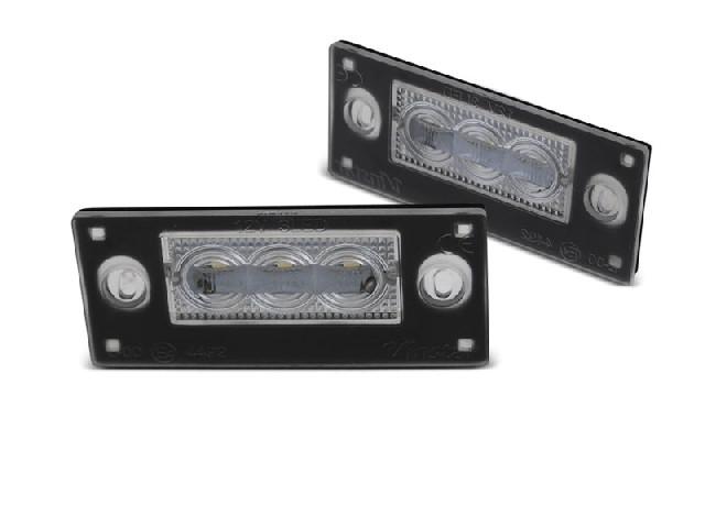 LICENSE LED LIGHTS 3x SMD LED fits AUDI  A4 B5 99-01 AVANT