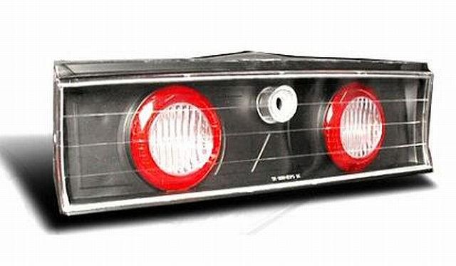 Mittelstück Rückleuchten Mitsubishi Eclipse D30 95-99 Schwarz