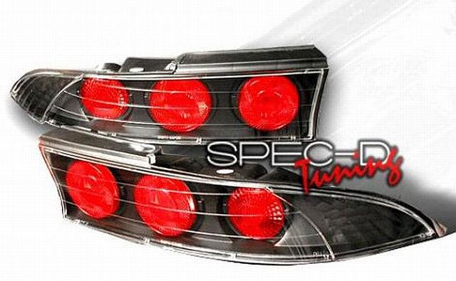 Rückleuchten Mitsubishi Eclipse D30 95-99 Schwarz 2-teilig