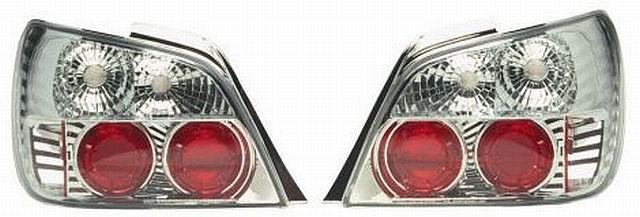 Rückleuchten Subaru Impreza WRX 01-02 Chrom