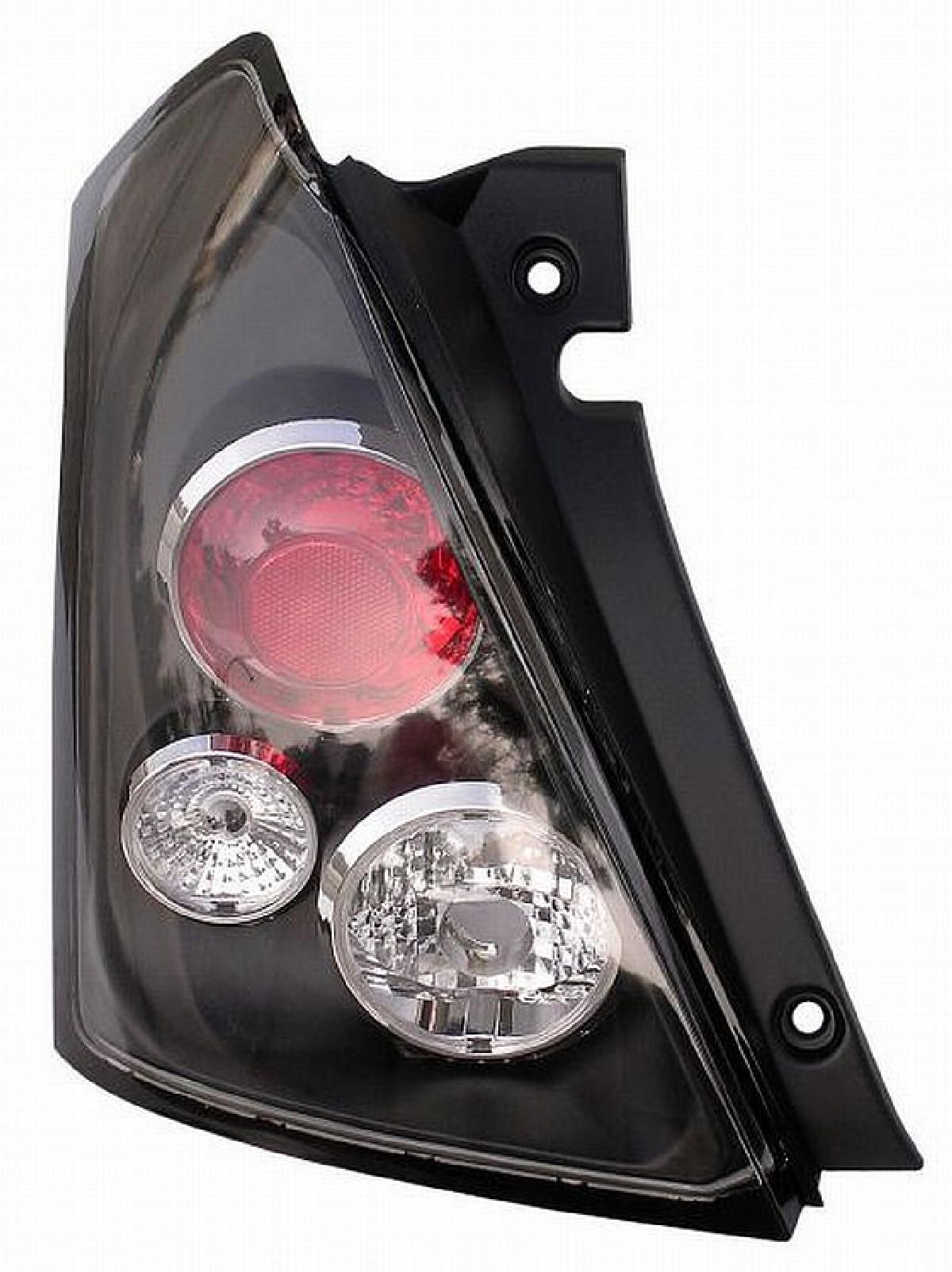 Rückleuchten Suzuki Swift 05-10 Schwarz