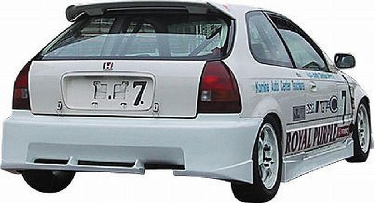 JP VIZAGE Heckstoßstange Honda Civic 96-98 3T