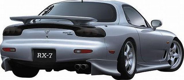 JP VIZAGE Heckansatz Mazda RX7 (93-97)