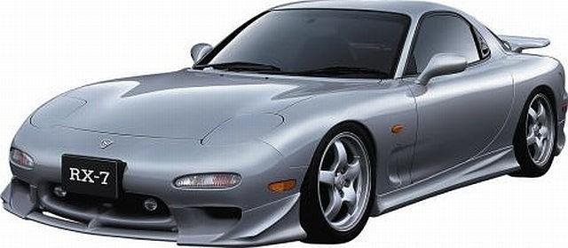 JP VIZAGE Seitenschweller Mazda RX7 (93-97)