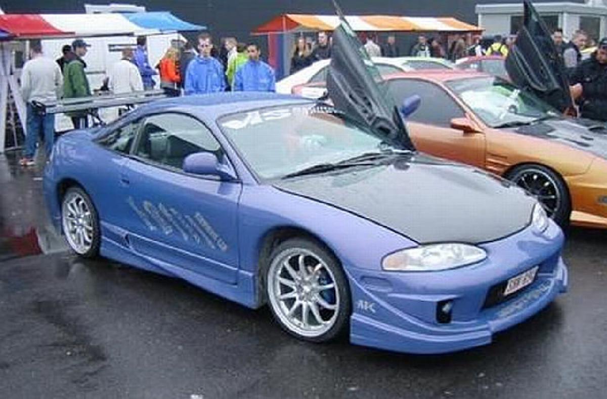 Seitenschweller Mitsubishi Eclipse D30 95-99 Extreme
