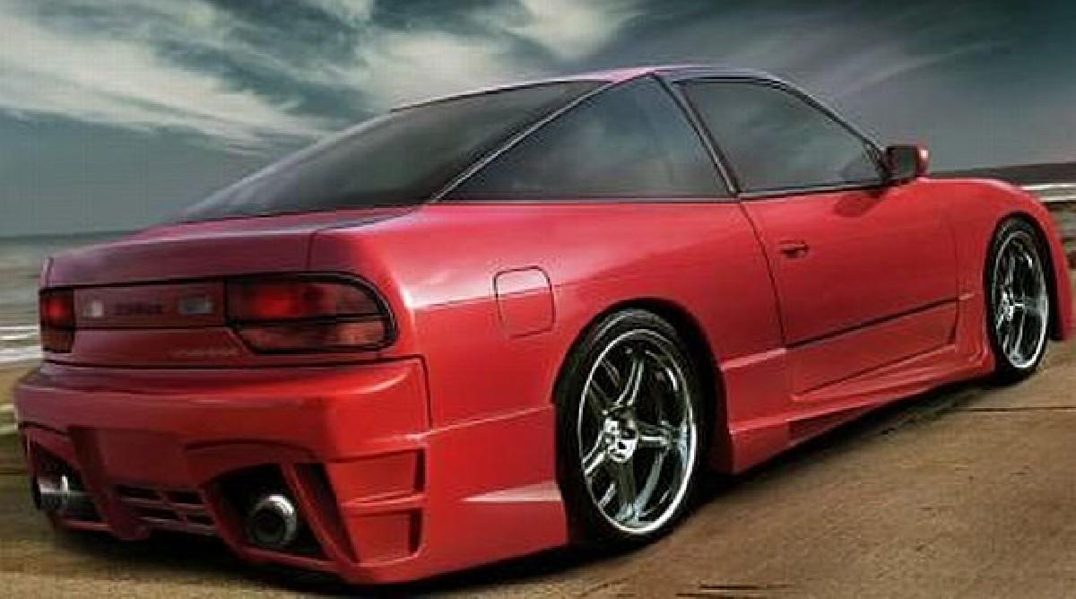 D1 Heckstoßstange Nissan S13 89-94
