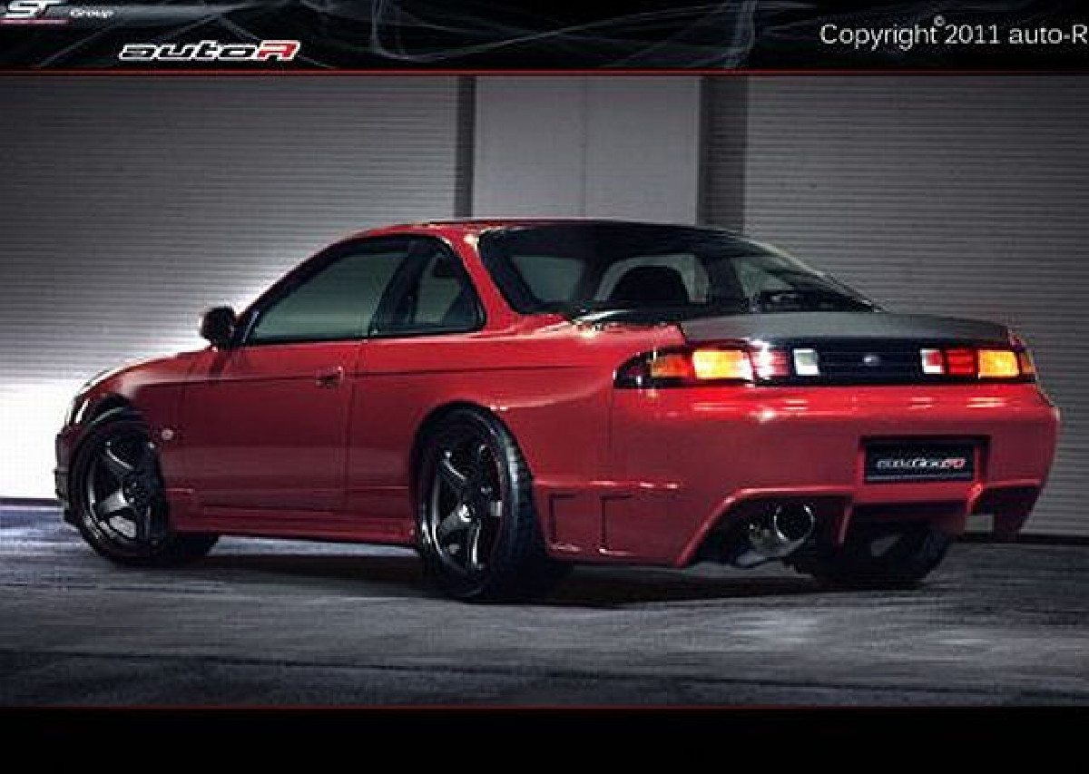 Heckstoßstange Nissan Silvia S14 (95-99)