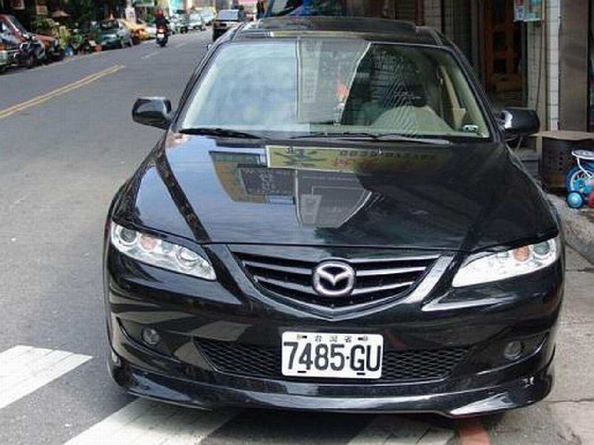 Frontlippe Mazda 6 Bj. 02-07 aus ABS