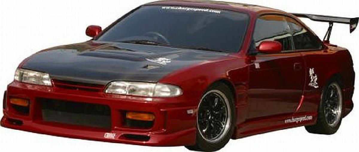Chargespeed Frontstoßstange Nissan Silvia S14 (94-96)