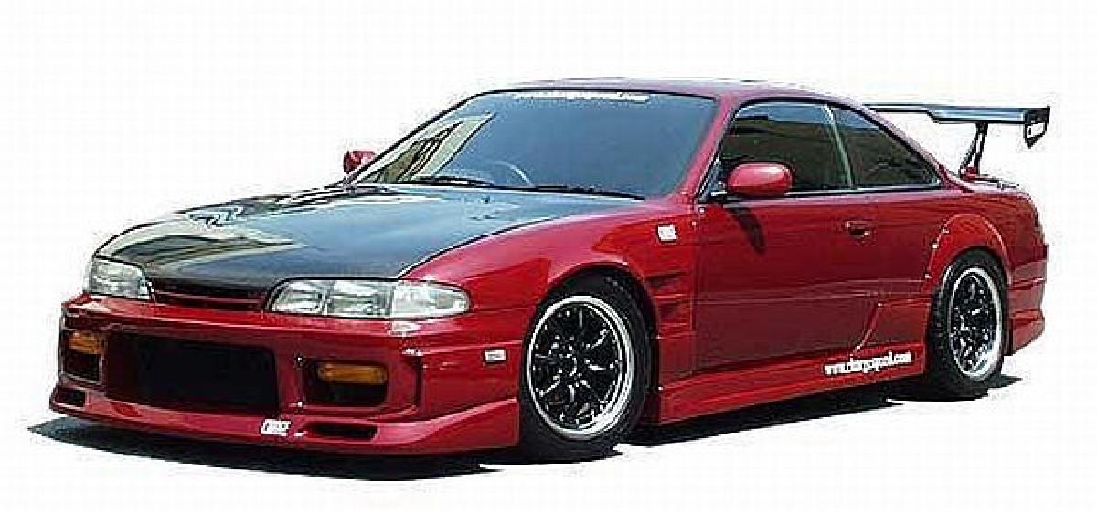 Chargespeed Seitenschweller Nissan Silvia S14 (94-99)
