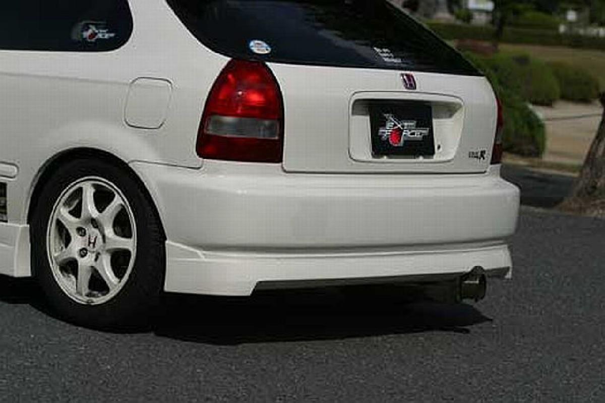 Chargespeed Heckansatz Honda Civic 96-00 3T