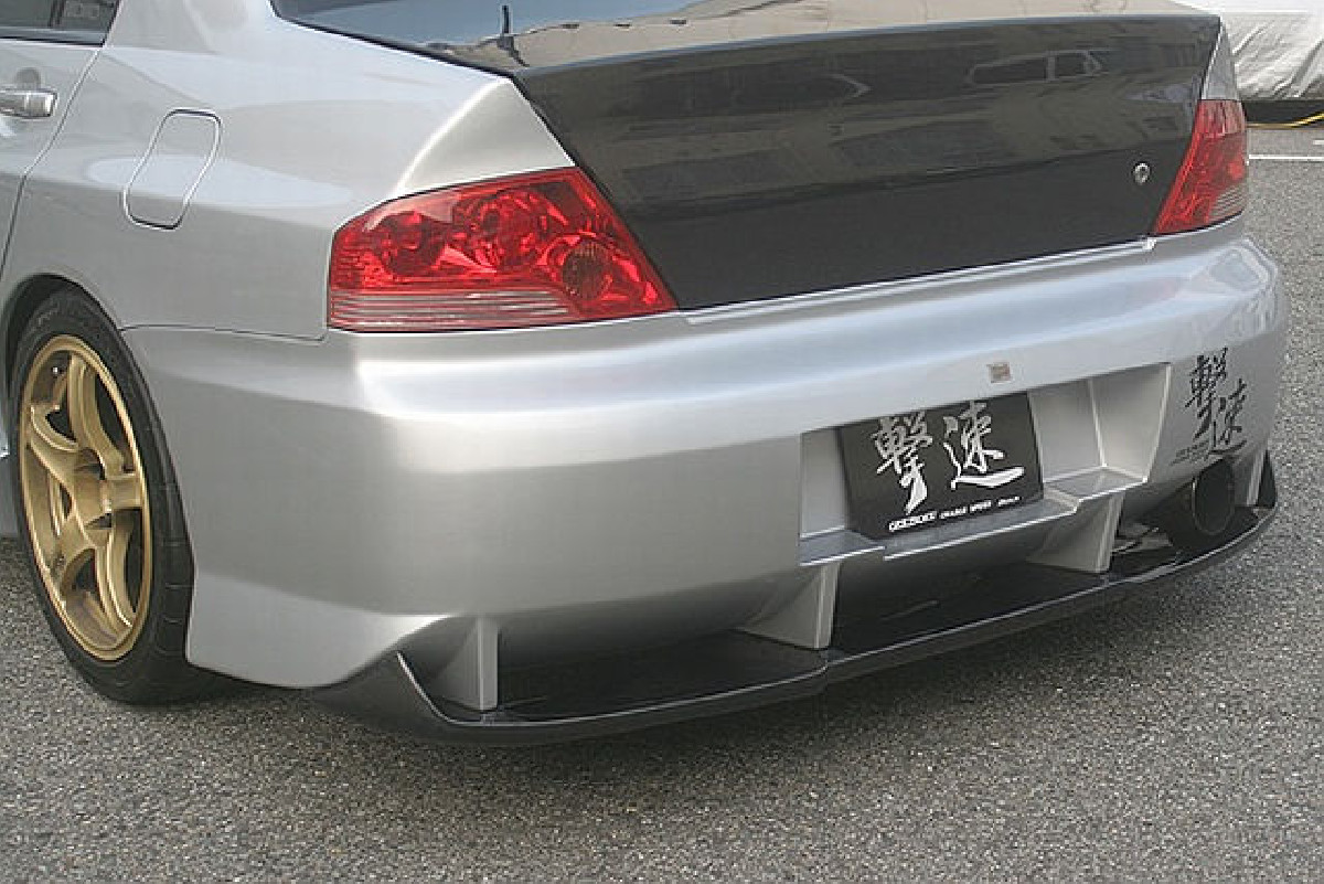 Chargespeed Heckstoßstange Mitsubishi Lancer EVO 7/8/9, inkl Diffusor