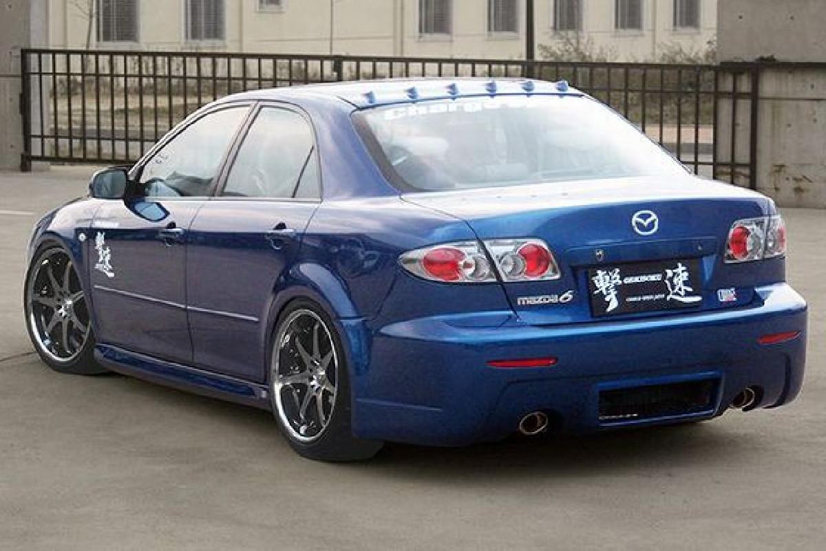 Chargespeed Heckstoßstange Mazda 6 Bj. 02-07