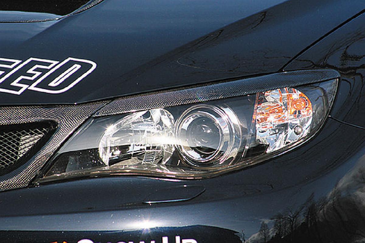 Chargespeed Scheinwerferblenden Subaru Impreza WRX STi ab 07