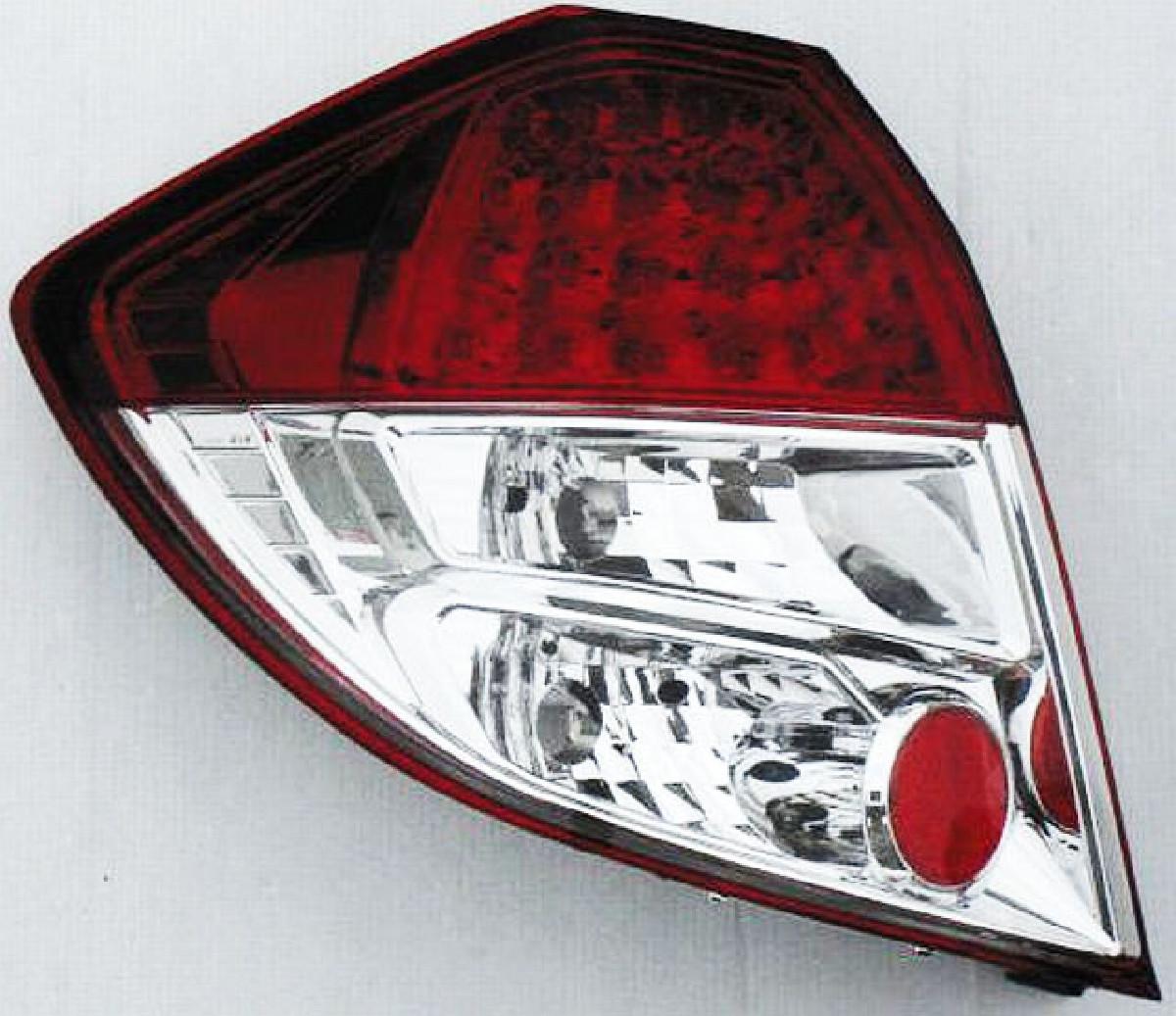 LED Rückleuchten Honda Jazz 08-11 Rot/Klar