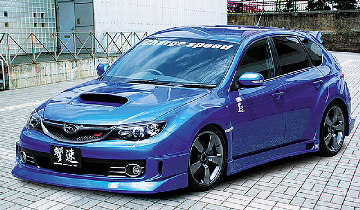 Chargespeed HalfType Frontlippe Subaru Impreza WRX STi 07-12