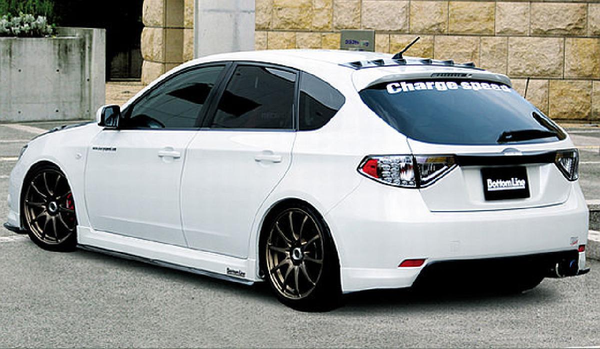 Chargespeed BottomLine Heckansatz Subaru Impreza GH ab 08