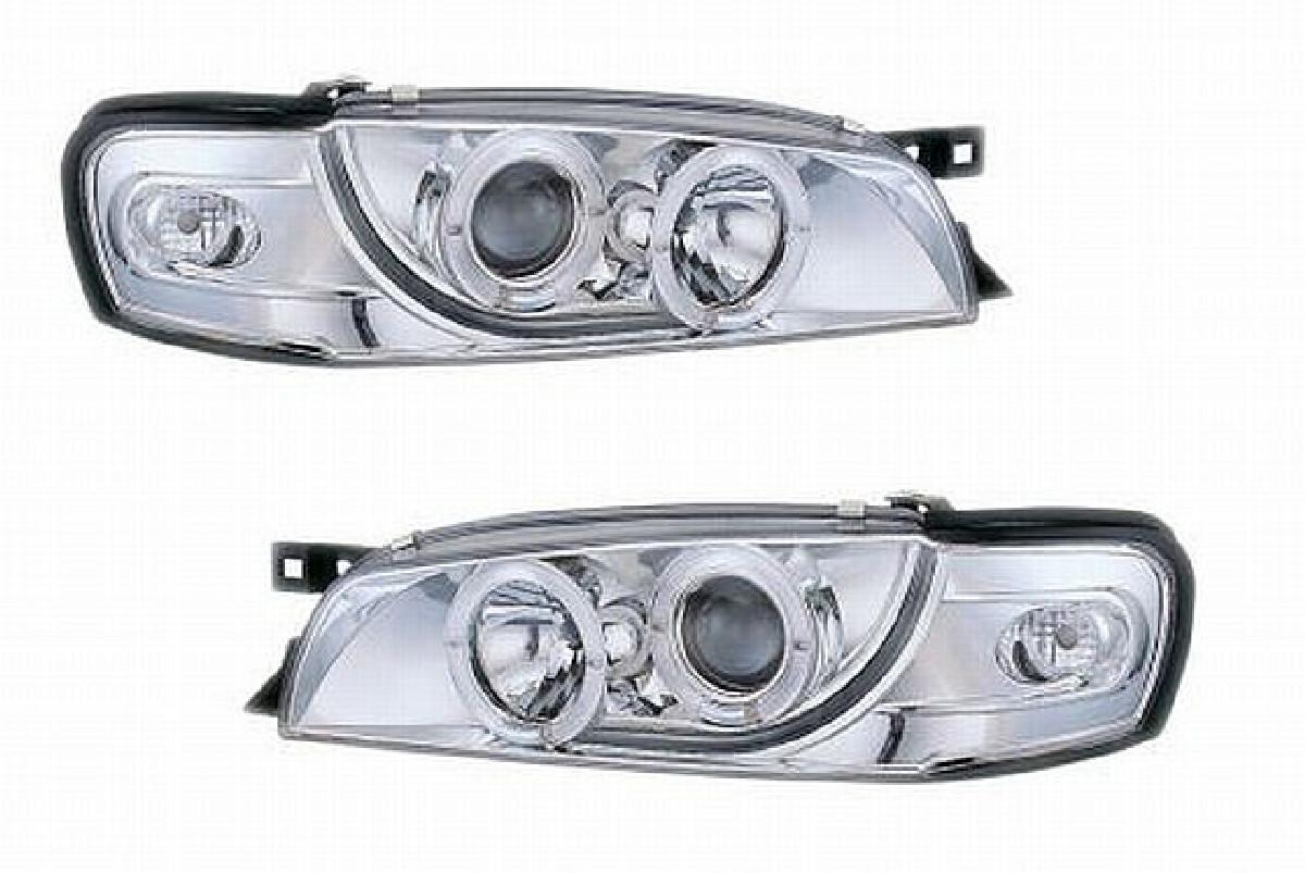Angel Eyes Scheinwerfer Subaru Impreza GC8 97-01 Klar