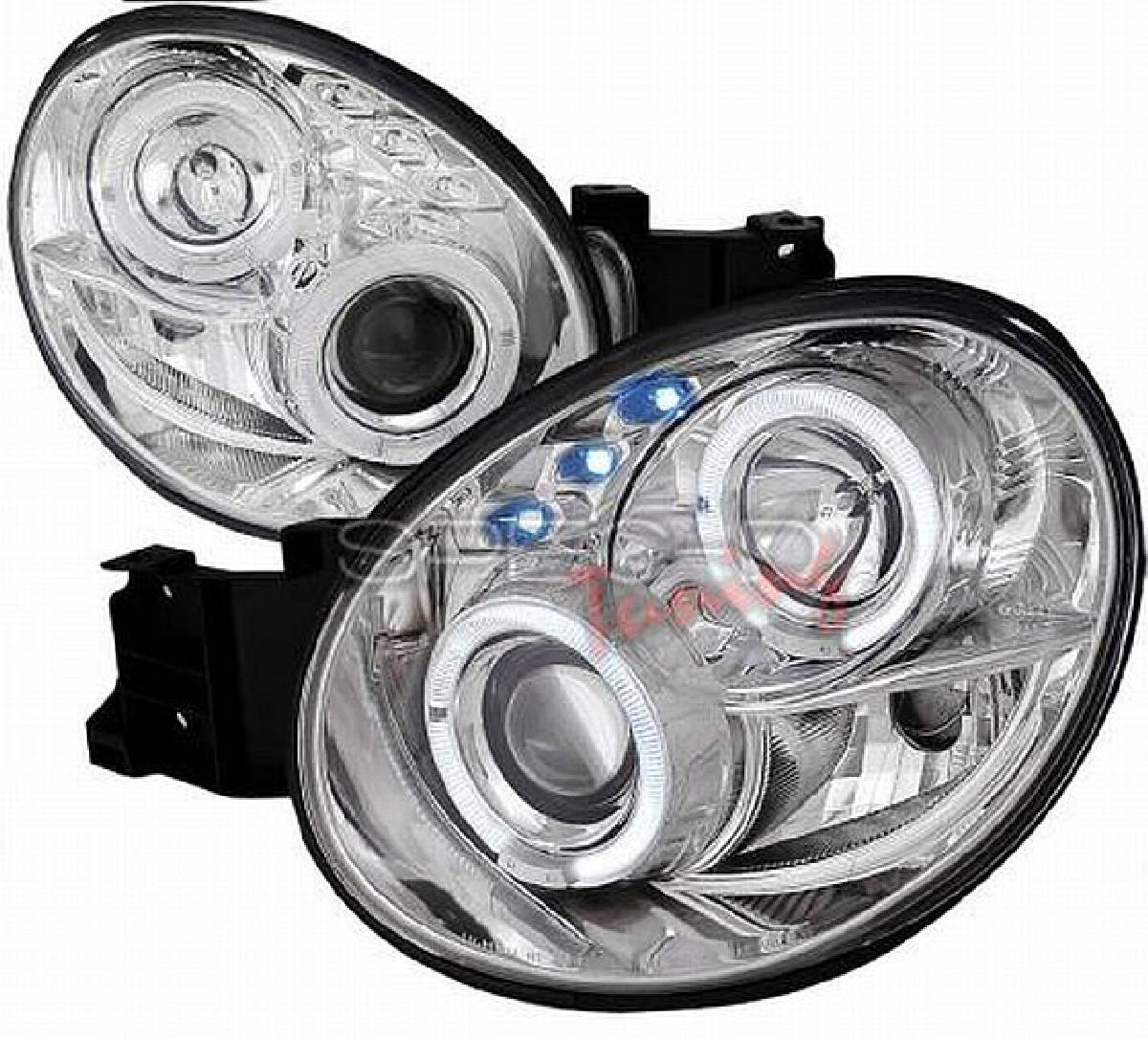 LED Tagfahrlicht Scheinwerfer Subaru Impreza GD A 00-02 Klar