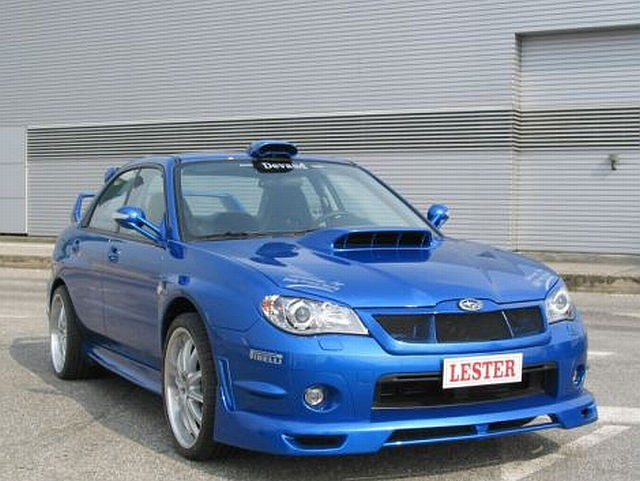 Frontlippe Subaru Impreza WRX 06-07 Lester ABS V1