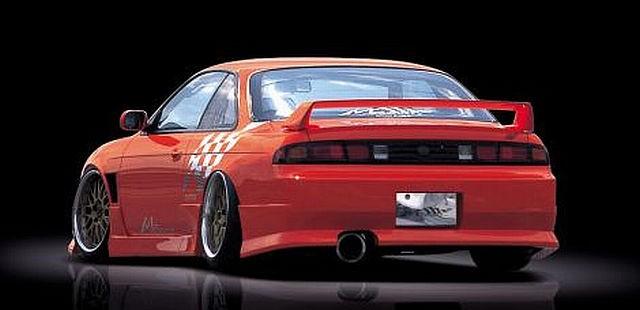 M-Sport Heckstoßstange Nissan Silvia S14 (94-99)