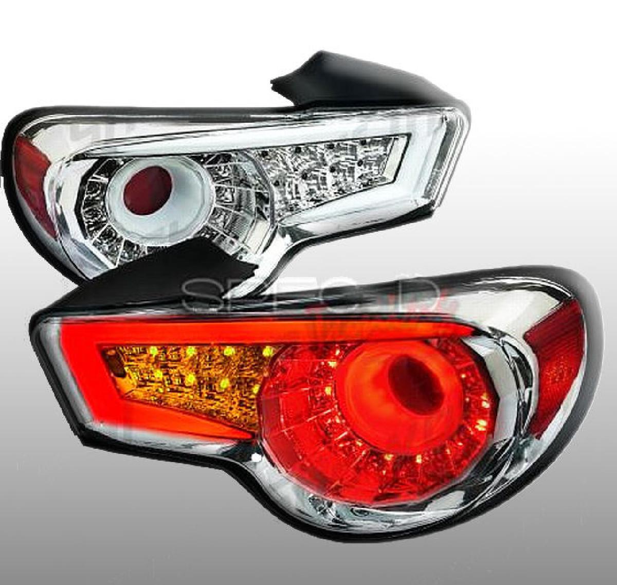 LED Rückleuchten Toyota GT86 Chrom/Klar