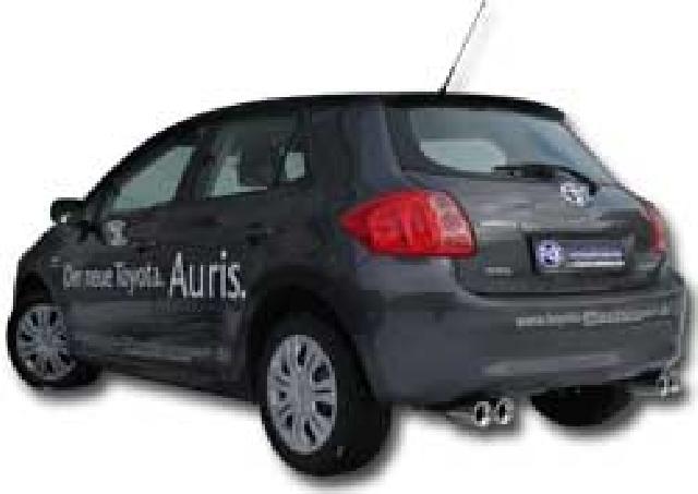 Toyota Auris Benzin FOX Endschalldämpfer rechts/links - 2x90