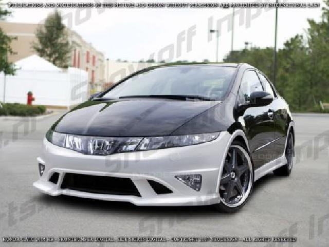 Honda Civic 06+ 3D Neodesign Sideskirts Seitenschwellersatz