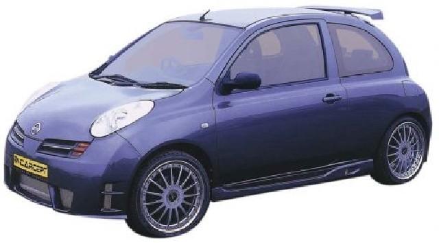 Nissan Micra 03+ Sideskirts [Carcept]