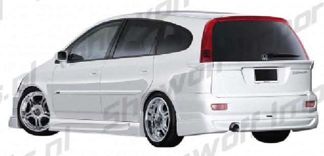 Honda Stream JP Vizages Rear Spoiler (window)