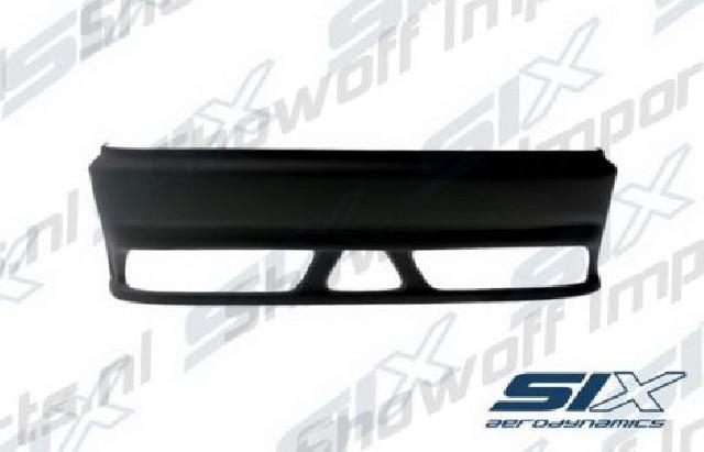 Honda Civic 95-00 MA/MB SIX-Aerodynamics PK2 Rear Bumper