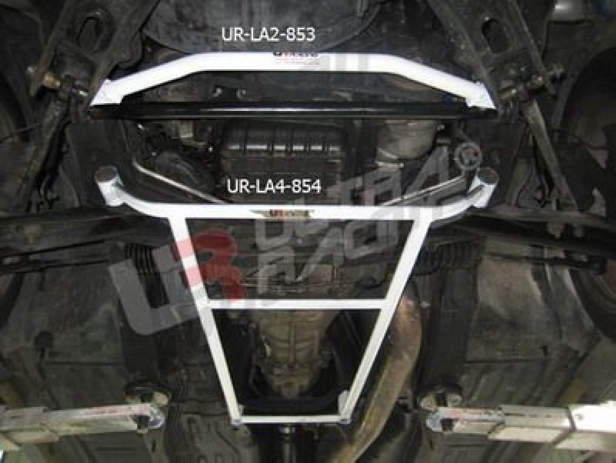 Nissan S14 95-99 UltraRacing 4-Point Front Lower Brace 854