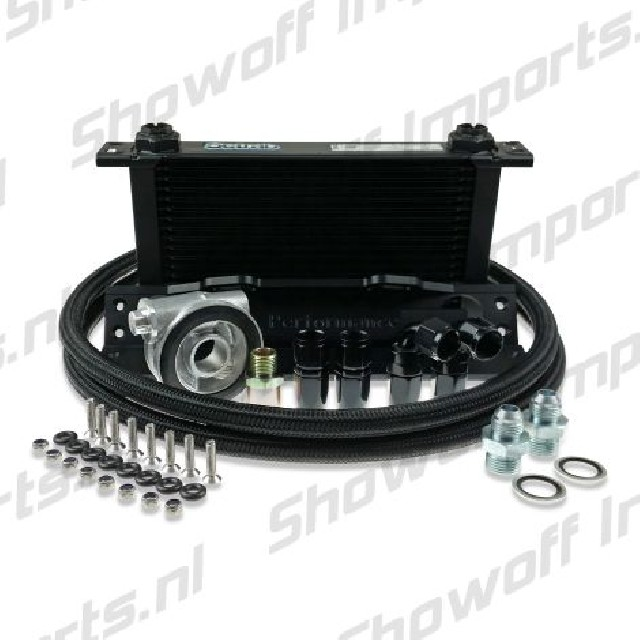 Nissan 200SX S14/S15 Oil Cooler Kit HEL / SETRAB 13 Row