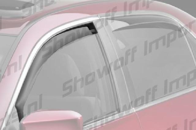 Hyundai i30 5D 07-12 Climair Window Visors Rear