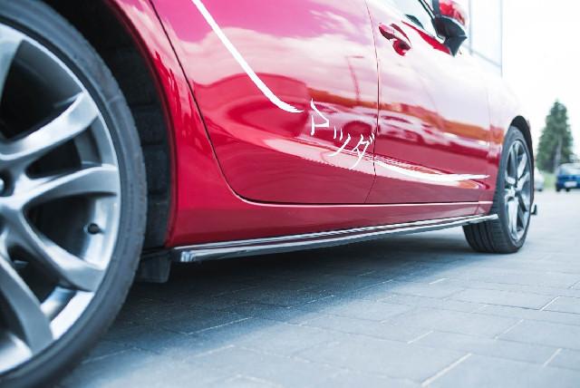 SEITENSCHWELLER DIFFUSOR Mazda 6 GJ (Mk3) Facelift