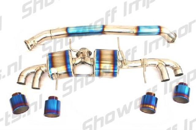 Nissan GTR R35 08+ Titanium Catback System Invidia