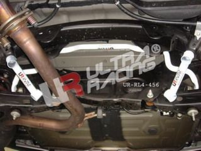 Toyota RAV4 2.4 06+ UltraRacing 2x 2Point Rear Member Braces
